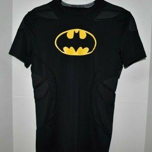 Under Armour YXL Boys Youth Batman Shirt New
